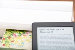 EBook avläsare Arkivfoto
