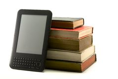 Ebook and books I Stock Photo