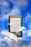 Ebook concept Royalty Free Stock Photo