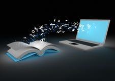Ebook concept royalty free illustration