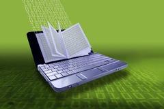 EBook - concept d'eLearning illustration libre de droits