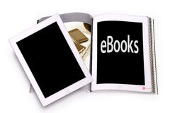 Ebook concept Royalty Free Stock Photos