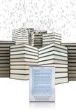 EBook - concepto del eLearning ilustración del vector