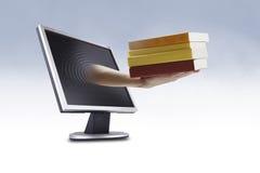 EBook - concepto del eLearning Fotografía de archivo