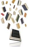 EBook - concepto del eLearning Imagen de archivo libre de regalías