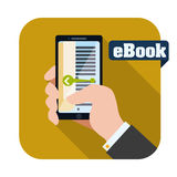 EBook-Design Lizenzfreies Stockbild