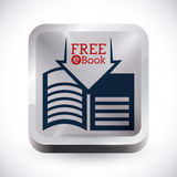 EBook-Design Lizenzfreies Stockfoto