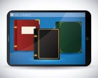 EBook-Design Stockfotos