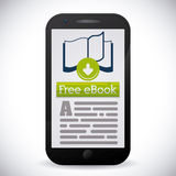 EBook design Royaltyfri Foto