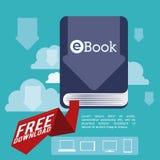 EBook design vektor illustrationer