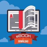 Ebook design Stock Photography