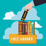 Ebook design Royalty Free Stock Images