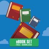 Ebook design Royalty Free Stock Photo