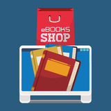 Ebook design Royalty Free Stock Photos