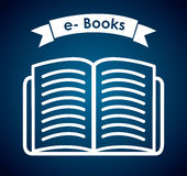 Ebook design. Ebook graphic design ,  illustration Royalty Free Stock Image