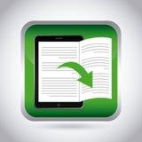 Ebook design Stock Photo