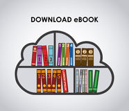 EBook design Royalty Free Stock Image