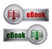 EBook design Royalty Free Stock Photo