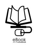 EBook design Stock Image