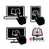 EBook design Stock Photos