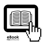 EBook design Royalty Free Stock Photography