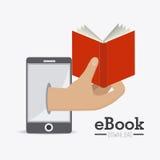 Ebook design. Stock Photos