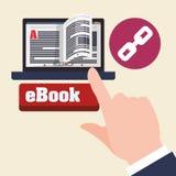 EBook  design. reading icon. White background , vector illustration , vector Stock Photos