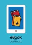 EBook design, vector illustration. Royalty Free Stock Image