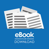 EBook design, vector illustration. Royalty Free Stock Photography