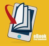 EBook design, vector illustration. Stock Photography