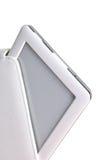 Ebook e cassa isolati su bianco Fotografie Stock Libere da Diritti