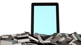 Ebook e livros ilustração royalty free