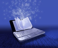 EBook - eLearningkonzept Stockfotografie