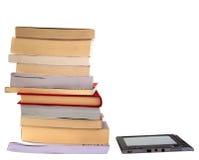 EBook en boeken Royalty-vrije Stock Afbeeldingen