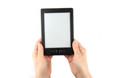 Ebook in hand Stock Photography