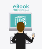 Ebook icon Stock Photo