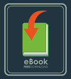 Ebook icon. Design, vector illustration eps10 graphic vector illustration