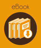 Ebook icon Royalty Free Stock Image