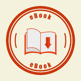 Ebook icon Stock Photography