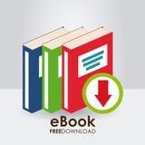 Ebook icon Stock Image