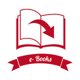 Ebook icon Royalty Free Stock Photography