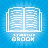 Ebook icon Stock Photography