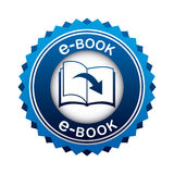 Ebook icon Royalty Free Stock Image