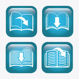 Ebook icon Royalty Free Stock Photos