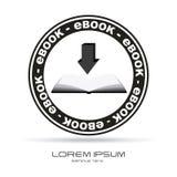 Ebook icon Royalty Free Stock Photo