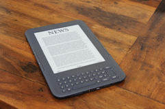 Ebook kindle Stock Image