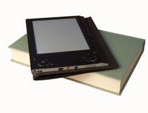 ebook książkowy czytelnik Zdjęcia Stock