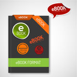 Ebook markers - stickers, corners, labels Royalty Free Stock Images