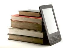 Ebook och bokar II Royaltyfri Foto