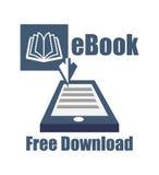 EBook projekt Obrazy Royalty Free